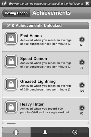 Boxing Coach App for iPhone